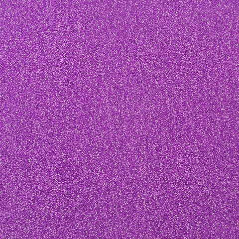 10 x Purple Non-Shed Glitter Premium Card Stock - 250gsm