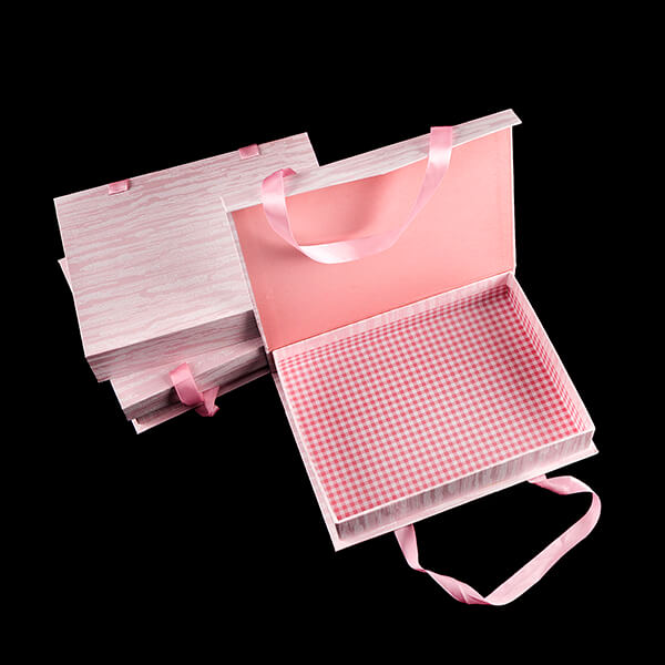 Set of 3 Pink Boxes