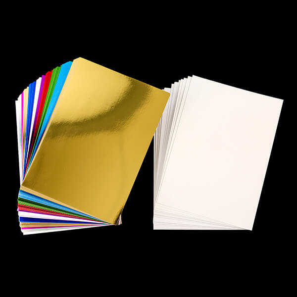 100 x Foil Card-stock with BONUS 20 x Pearl Shimmer Card Worth £6.99