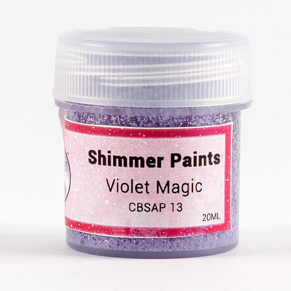 Shimmer Paint 20ml - Choose from 12 Colours