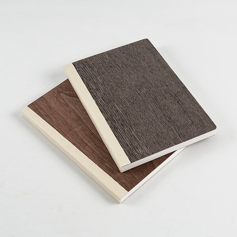 Set of 2 Wooden Notebooks
