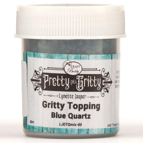 Pretty Gets Gritty - Gritty Textures - Blue Quartz