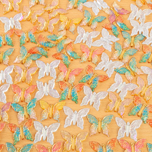 Craft Buddy Embellishments - 80 Enchanted Butterflies
