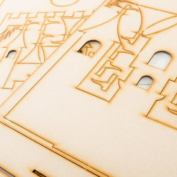 MDF Princess Castle Project Kit
