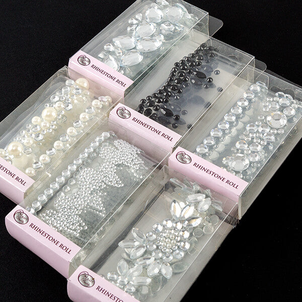 Set Of 6 Rhinestones On a Roll