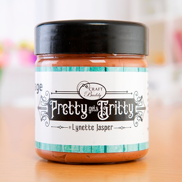 Pretty Gets Gritty - Gritty Vintage Paste – Chestnut (150ml)