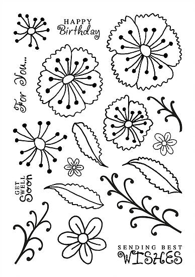 Country Garden Stamp Set (DBS03)