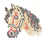 W Horse Crystal Card Kit