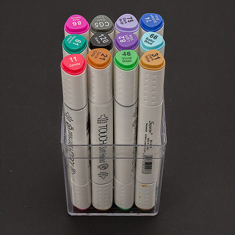 12 x Bright Moonshine Solvent Marker Pens (DBP12-BR)