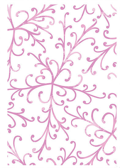 Pretty Flourish Stencil (DBST09)