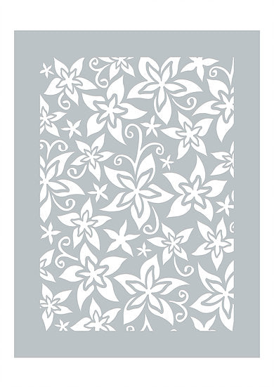Exotic Meadows Stencil (DBST04)