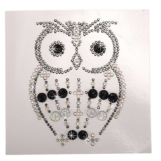 C Oscar Owl Crystal Card Kit