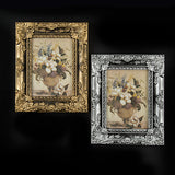 "Set Of 2 Resin 5 X 7"" Photo Frames - Antique Finish"