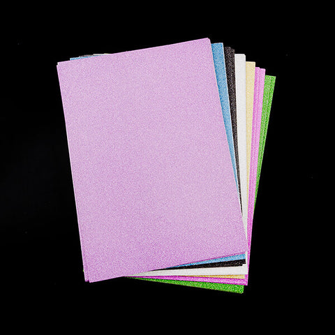 40 Sheets of A4 Non-Shed Glitter Card