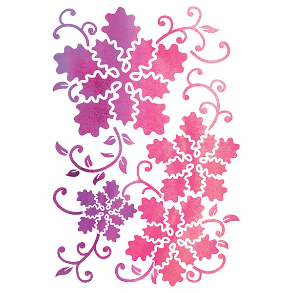 Janita Bloom Premium Embossing Stencil