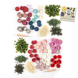 "Flower Making Complete Collection with Tools & Free 6x6"" Paper Pad worth £5.99"