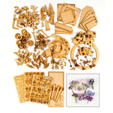 Lynette Jasper - Pretty Gets Gritty MDF Collection with Free Wired Flowers Kit worth £19.99
