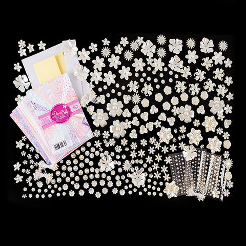 Create a Flower Pearl Collection - Creates 560 Flowers With Bonus Paper Pas Worth £11.99