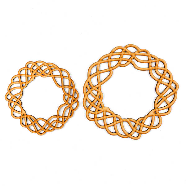 Small and Medium Wreath Blanks - Organic