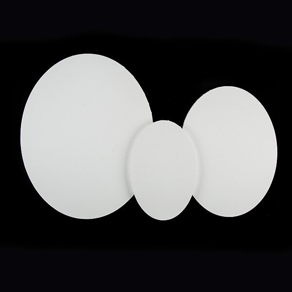 Set Of 3 Oval Canvases