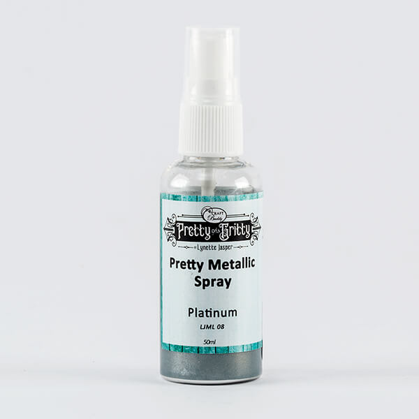 Lynette Jasper Metallic Shimmer Spray - Platinum