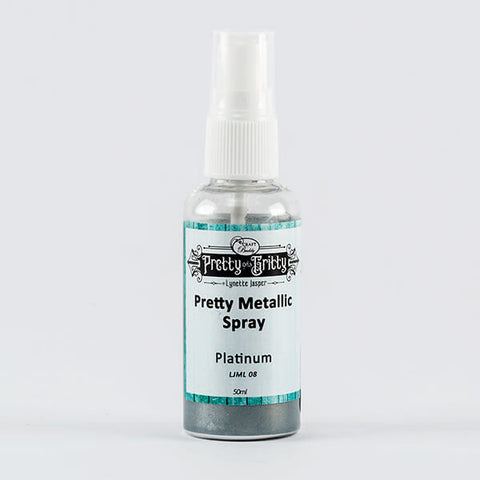 Pretty Gets Gritty - Metallic Shimmer Spray - Platinum