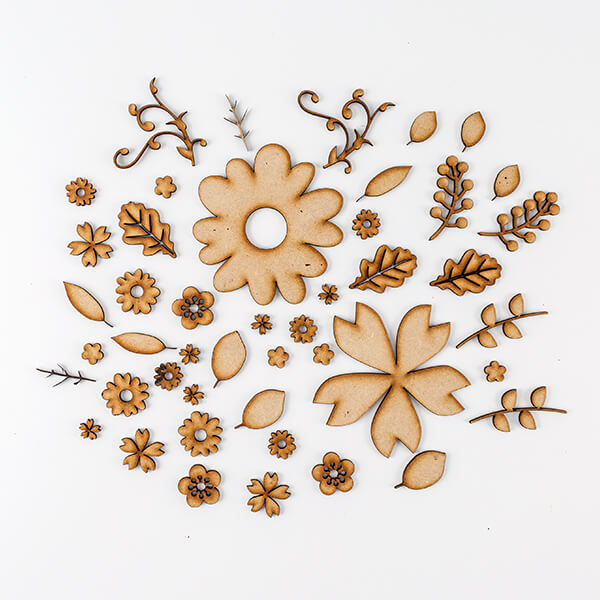 Lynette Jasper Laser Cut MDF Embellishment Assortments