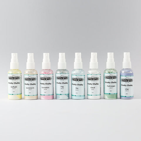 LYNETTE JASPER PRETTY CHALKY SPRAY COMPLETE COLLECTION - 400ML TOTAL