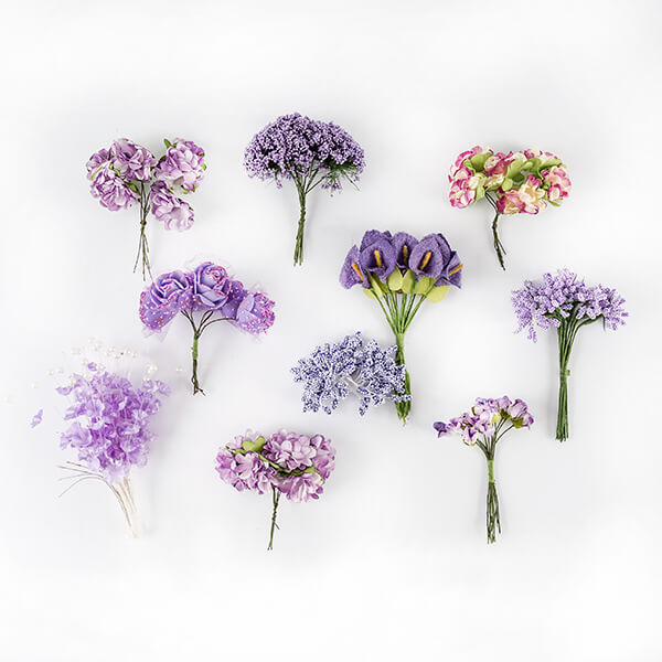 Craft Buddy Organic Florals - Choose from 5 Colours