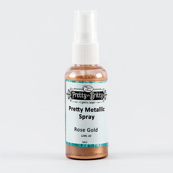 Lynette Jasper Metallic Shimmer Spray - Rose Gold