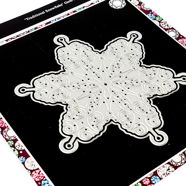 Gem It Traditional Snowflake Die Set - 2 Dies