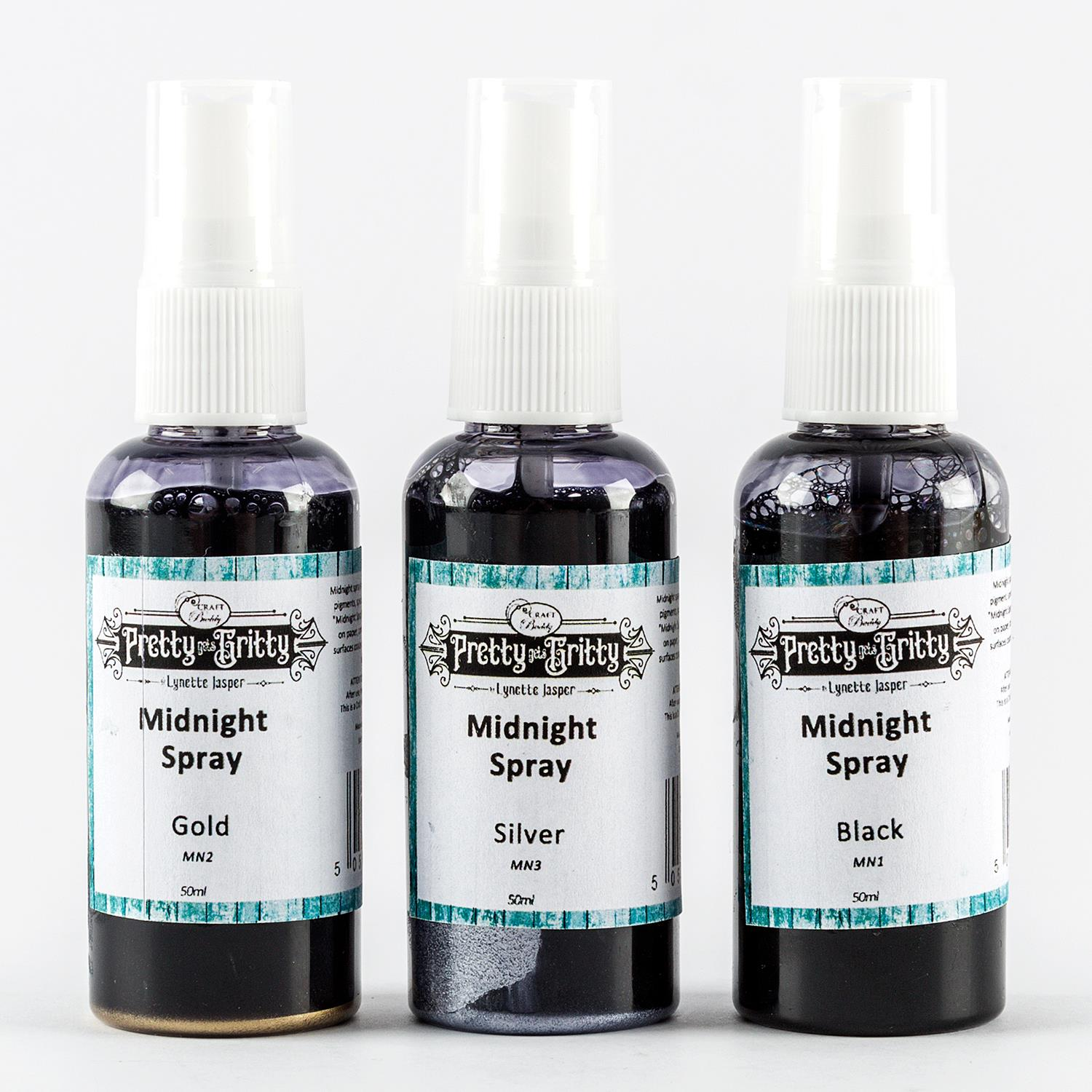 Lynette Jasper Set of 3 Midnight Sprays