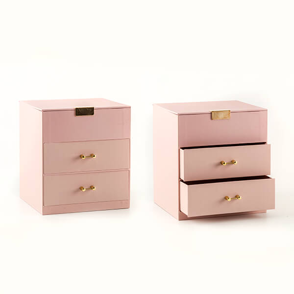 Set Of 2 Treasure Storage Boxes