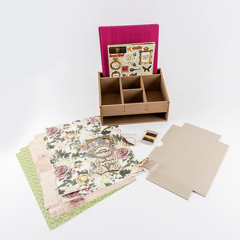 Lynette Jasper Treasured Moments MDF Desk Caddy