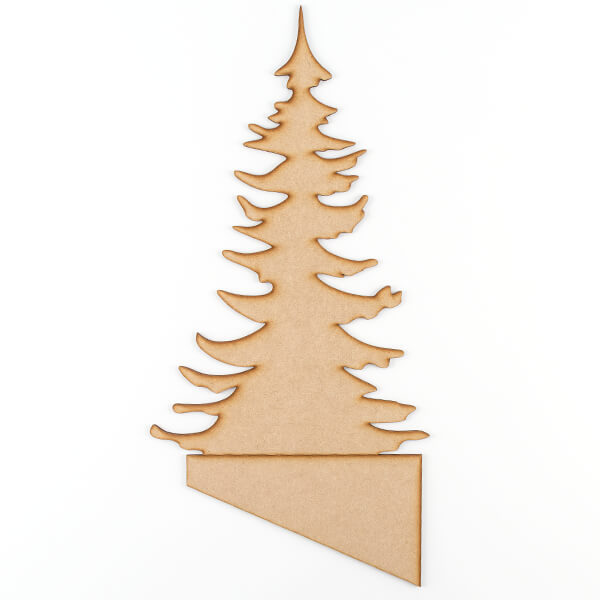 Shaped MDF Stand - Tree with Stand