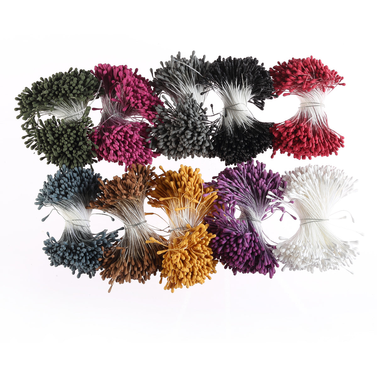 Organic Flower Stamen Collection - 2 Options (Pastel or Dark)
