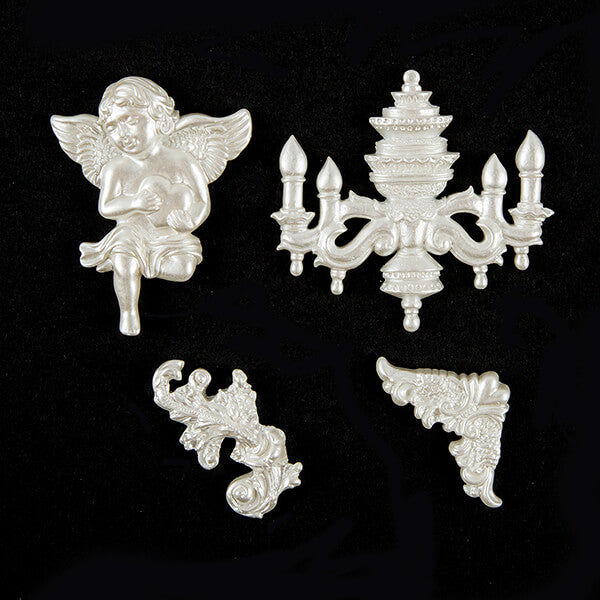 43 Piece Victorian Embellishment Bundle