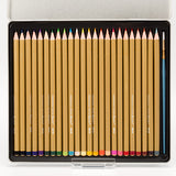 24 Superior Moonbeam Water Colour Pencils With 2 Brushes
