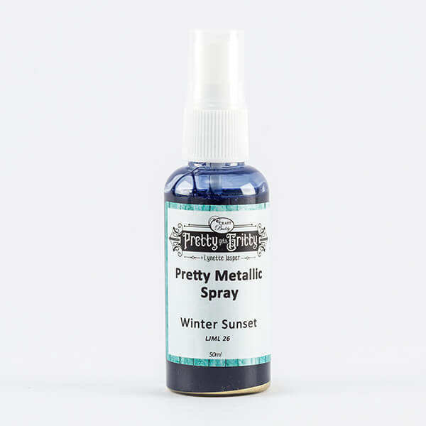 Lynette Jasper Metallic Shimmer Spray - Winter Sunset