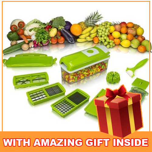 All in One Fruit and Vegetable Slicer