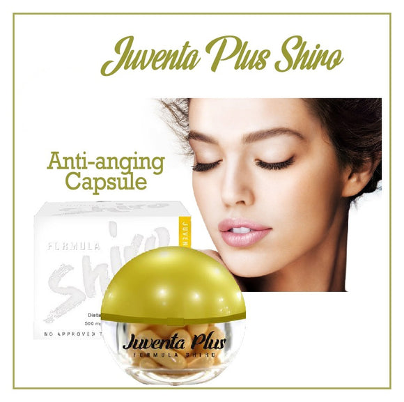 Juventa Plus Shiro Extracts Capsule - With Marine Placenta and Glutathione - Gfoxx International