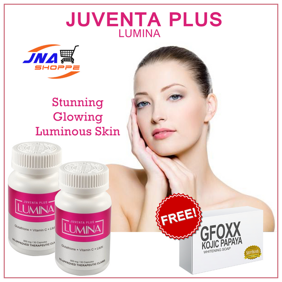 2 LUMINA with FREE 1 KOJIC SOAP (FREE SHIPPING) - Gfoxx International