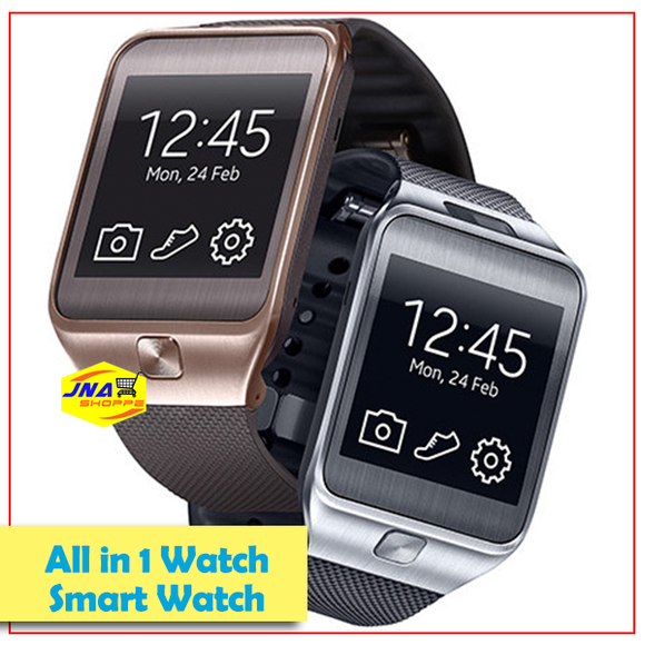 Smart Watches Sport Passometer Smartwatch Fashion for Android (Sim Card Open Line)