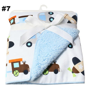 Double Layer Fleece Blanket