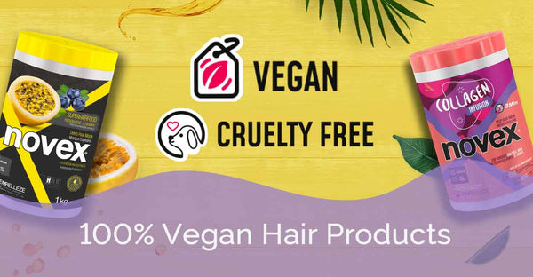 100% Vegan Hair Products (Cruelty Free too!)
