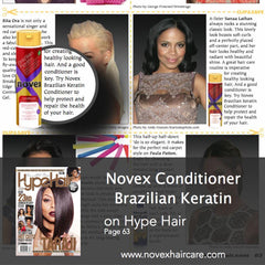 Hype Hair Novex Conditioner feature