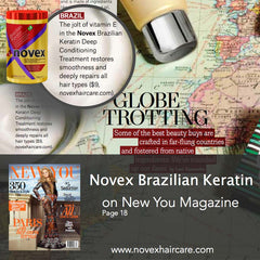 New You Magazine Novex Brazilian Keratin