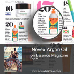Essence Magazine Novex Argan Oil