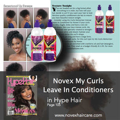 Hype Hair Novex Leave In Conditioners