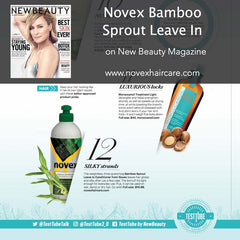 New Beauty Magazine Novex press